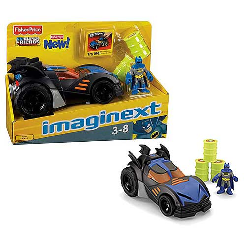 Batman DC Super Friends Imaginext Batmobile