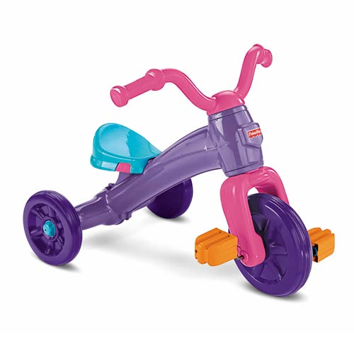 Grow With Me Pink and Purple Ride-On Trike