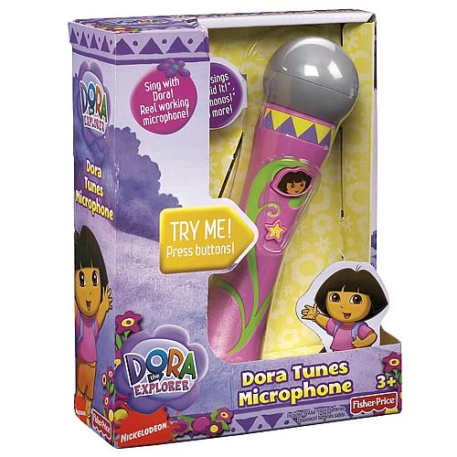 Dora the Explorer Mega Tunes Microphone