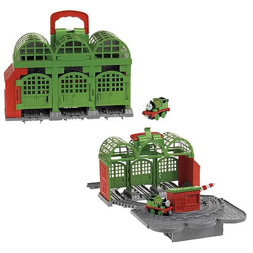 Thomas & Friends Knapford Station Take-n-Play Playset