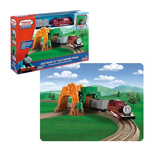 Thomas and Friends Arthur Copper Mine Engine and Playset
