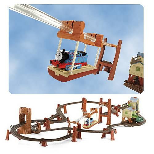 Thomas and Friends Zip Zoom and Logging Adventure Playset