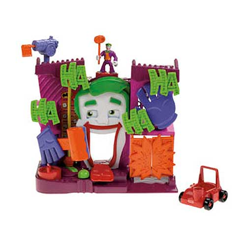 Batman DC Super Friends Imaginext Joker's Fun House