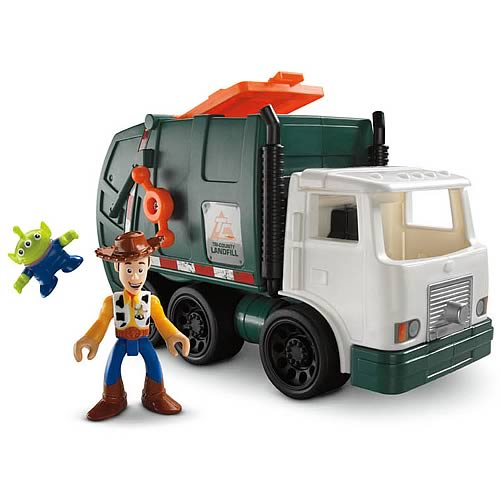 Toy Story Imaginext Garbage Truck Vehicle