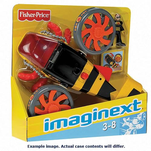 Imaginext Sky Large Plane Assortment Case