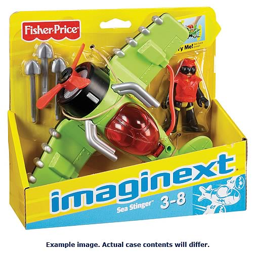 Imaginext Sky Feature Plane Assortment Case