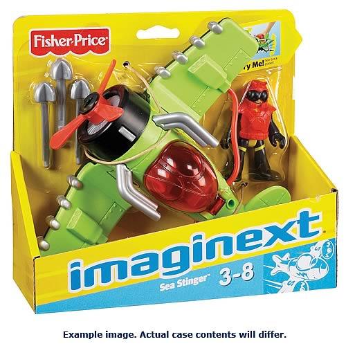 Imaginext Sky Feature Plane Assortment Case