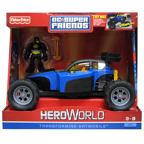 Hero World Batman Batmobile Vehicle