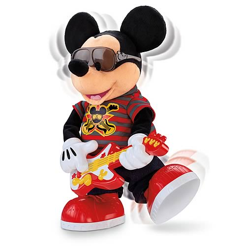 Disney Rock Star Mickey Plush