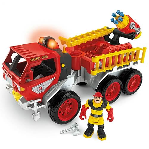Hero World Rescue Heroes Fire Truck Vehicle