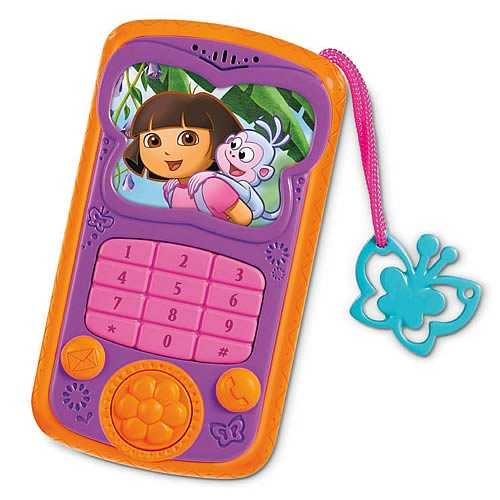 Dora the Explorer Talk and Explore Cell Phone - Fisher-Price - Dora the Explorer - Preschool ...