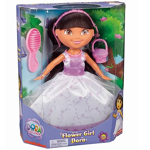 Dora the Explorer Flower Girl Dora