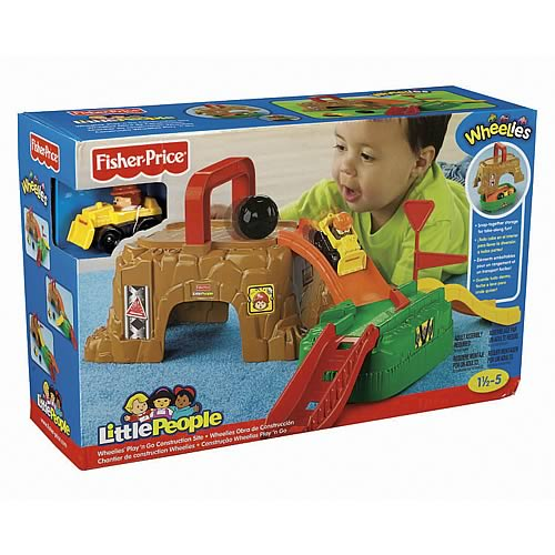 Little People Play N Go Construction Playset