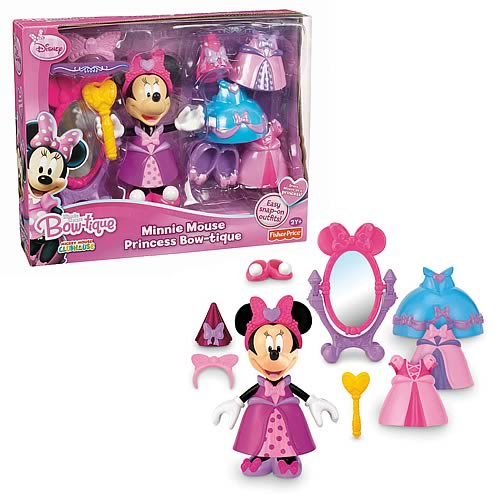 Disney Minnie Mouse Princess Bowtique Playset