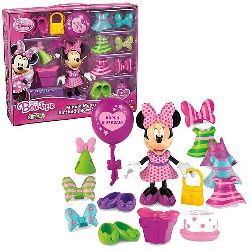 Disney Minnie Mouse Birthday Party Bowtique Playset