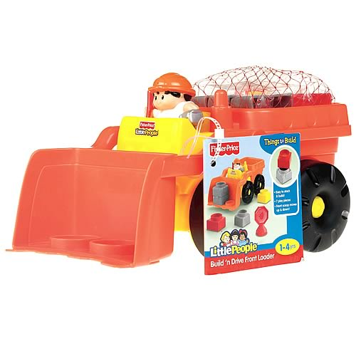 Little People Builders Small Vehicles Case