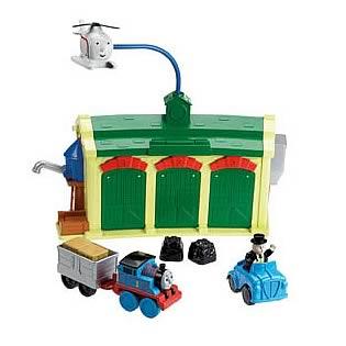 Thomas and Friends Tidmouth Sheds Playset