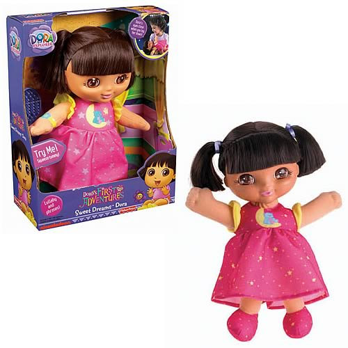 Dora the Explorer Sweet Dreams Dora Doll