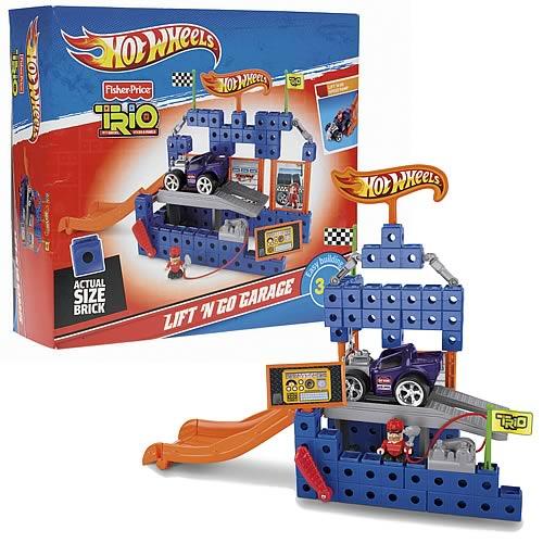 Trio Hot Wheels Speed Shop Garage Playset