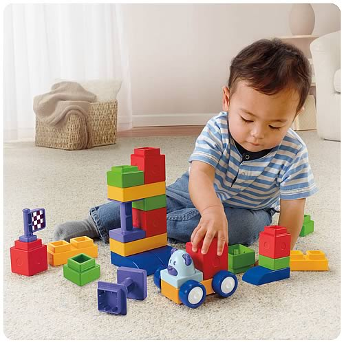 Trio My 1st Blocks Building Playset