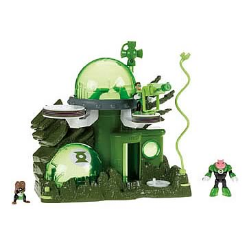 Green Lantern Planet Oa Imaginext Super Friends Playset