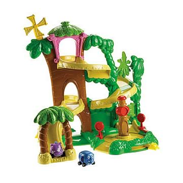 World of Jungle Junction Roadway Playset