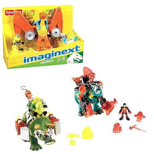Imaginext Large Dinosaur Figure Assortment Case