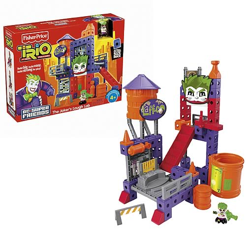 Trio Batman Joker's Laugh Lab Playset