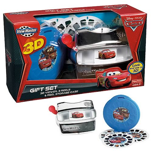Cars 2 View-Master Deluxe Gift Set