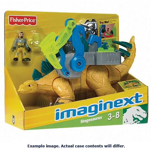 Imaginext Dinosaur Deluxe Assortment Case