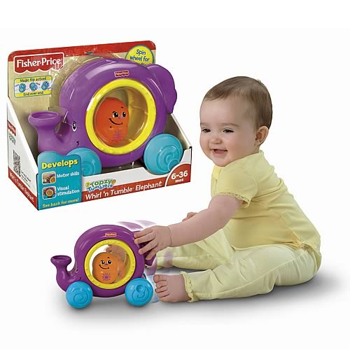 Topzy Tumblers Whirl 'n Tumble Elephant Vehicle