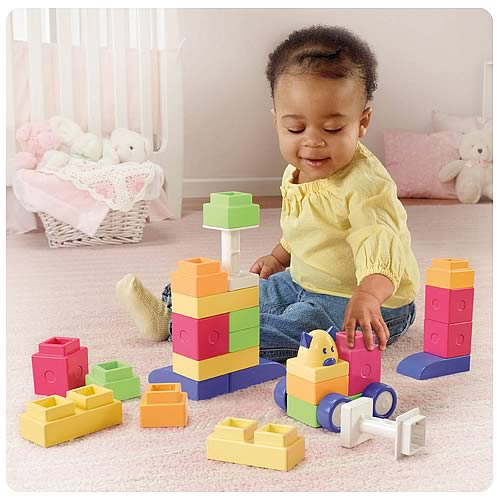Trio Girls My 1st Blocks Building Playset