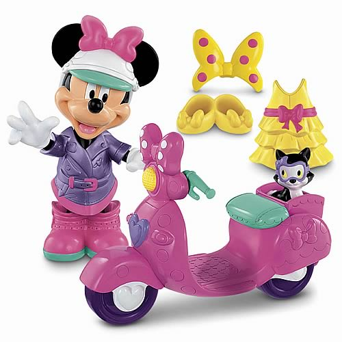 Disney Minnie Mouse Fashion Ride Vehicle Playset
