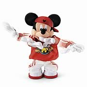 Mickey Mouse Bust A Move Master Plush