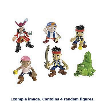Jake and the Never Land Pirates Action Figures Case