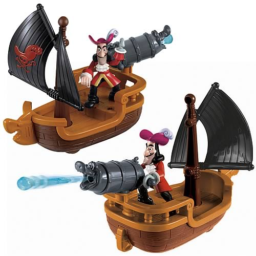 Jake and Never Land Pirates Hook's Battle Boat Vehicle