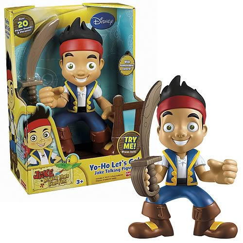 Jake and the Never Land Pirates Talking Action Figure