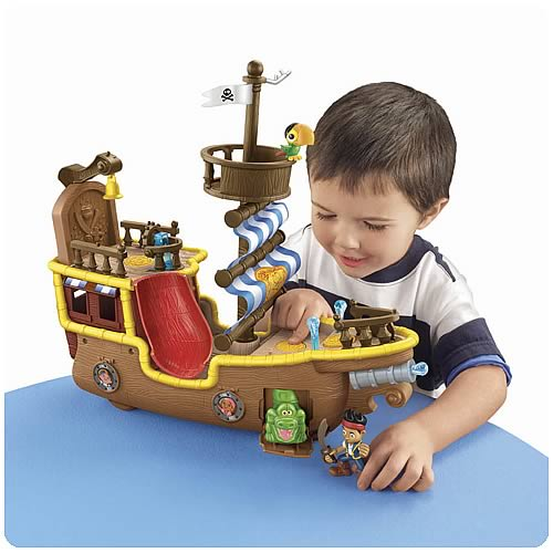 Jake and the Never Land Pirates Bucky Ship Vehicle