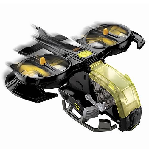 Batman Hero World DC Super Friends Batwing Vehicle
