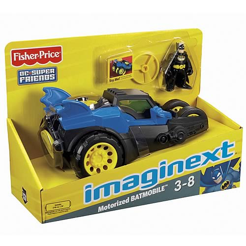 Batman Motorized Batmobile Vehicle