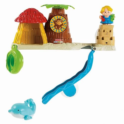 Little People Bath Tub Playset