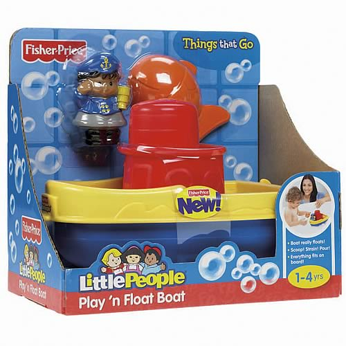 Little People Play and Float Bath Boat