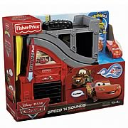 Cars Little People Wheelies Race Track Playset
