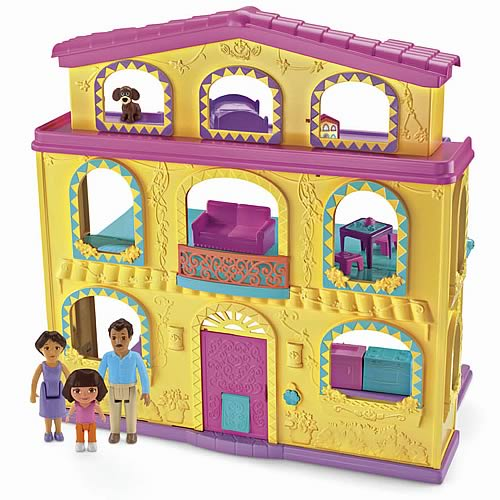Dora the Explorer Dollhouse Playset