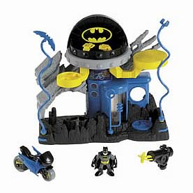 Batman Imaginext Super Friends Bat Cave Command Center