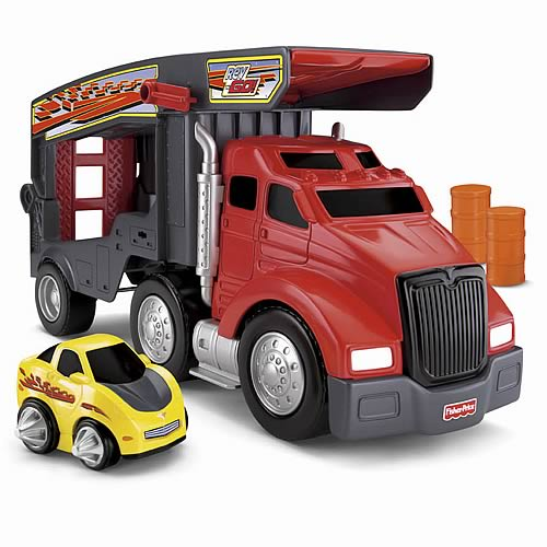 Rev n Go Wheels Stunt Hauler Truck Vehicle