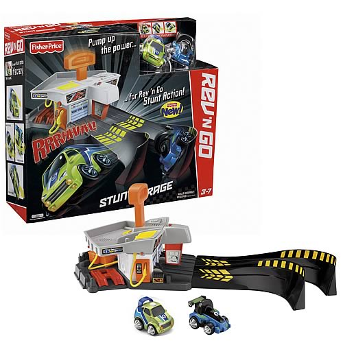 Rev n Go Stunt Garage Playset