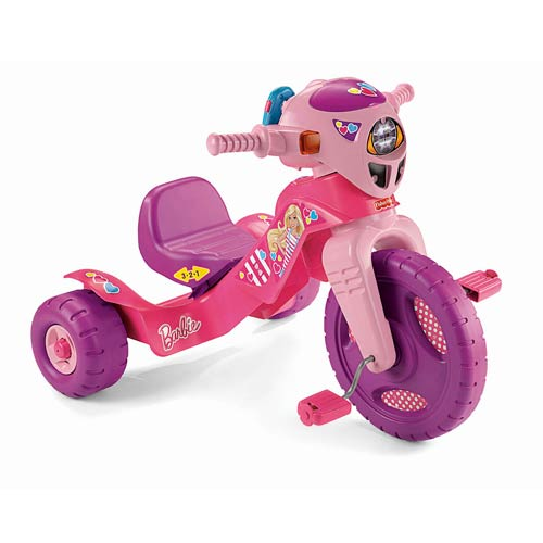 Barbie Lights and Sounds Ride-On Trike
