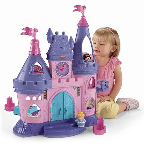 Disney Little People Princess Songs Palace Playset