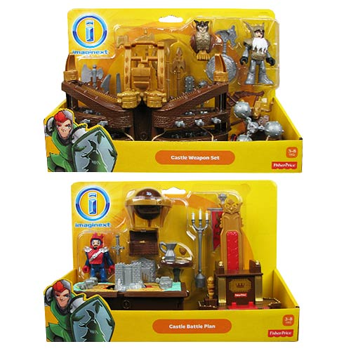 Imaginext Castle Accessories Playset Case
